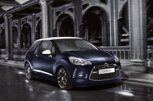Citroen DS 3 Opera Blue: Citroen DS 3 Opera Blue