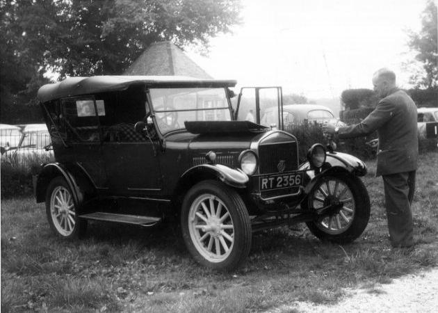 Ford Modell T: Model T To Be Restored