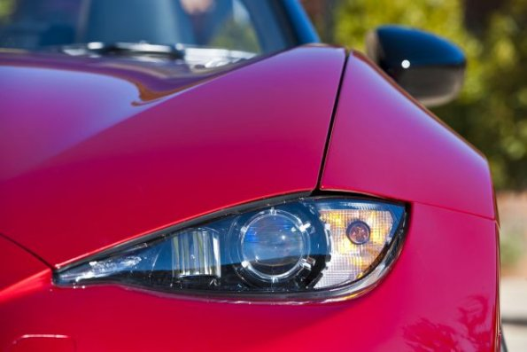 Detail am Mazda MX-5