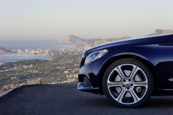 Mercedes Benz C Klasse C300 Bluetec Hybrid Nahaufnahme