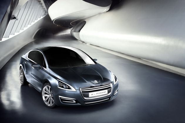 5by Peugeot Studie : 5by Peugeot