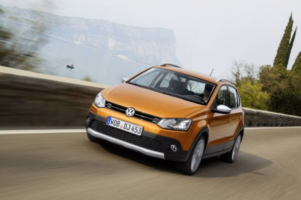 Die Front des VW Cross Polo